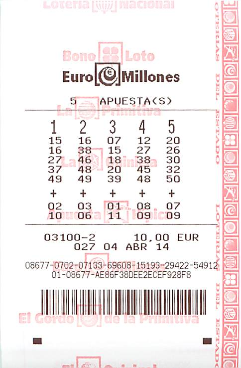 EuroMillions and the El Millón Raffle Spain